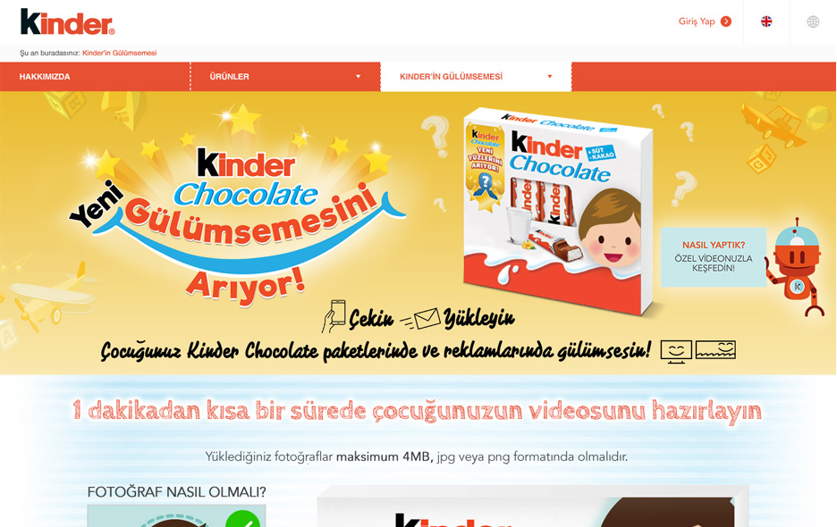 Kinder | Face of Kinder